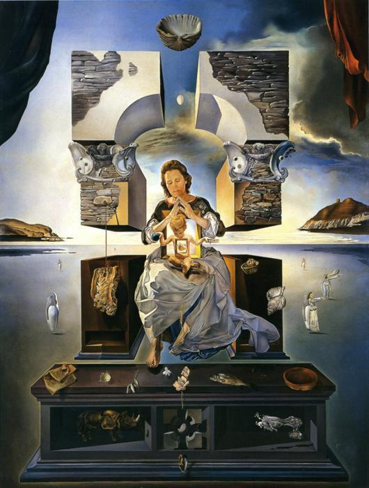 Dali, the madonna of port Lligat